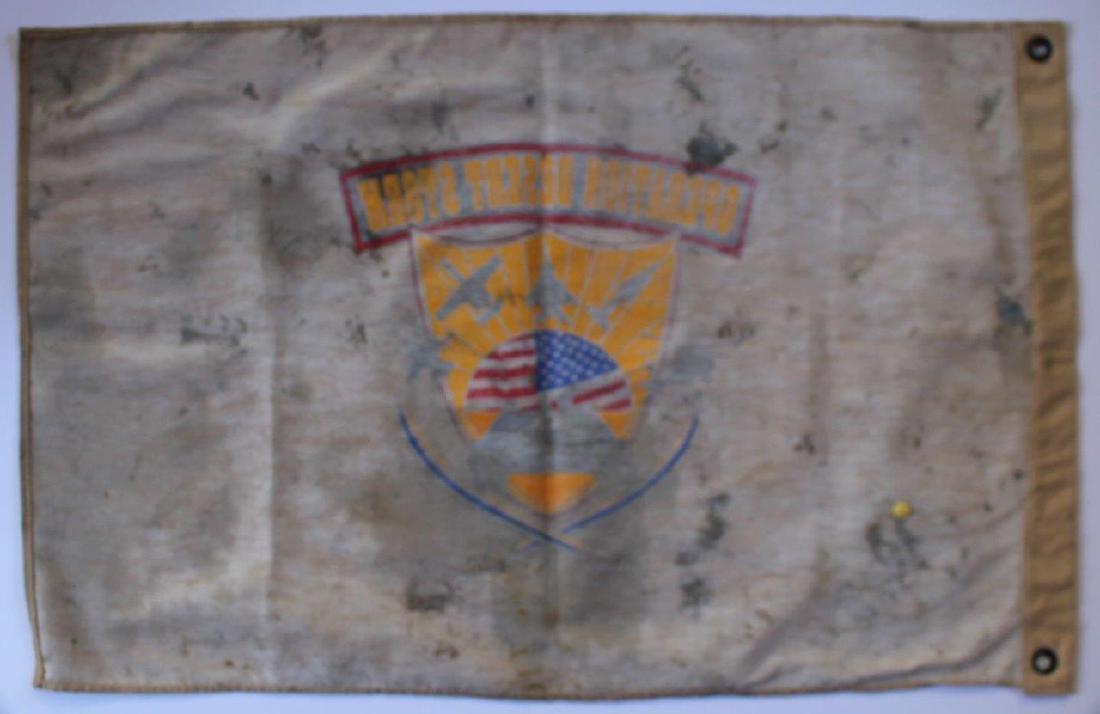 1991 Operation Desert Storm Printed Flag - 4
