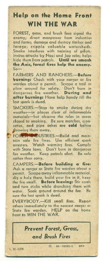 1942 Wwii Home Front Propaganda, Hitler Tojo Caricature - 2