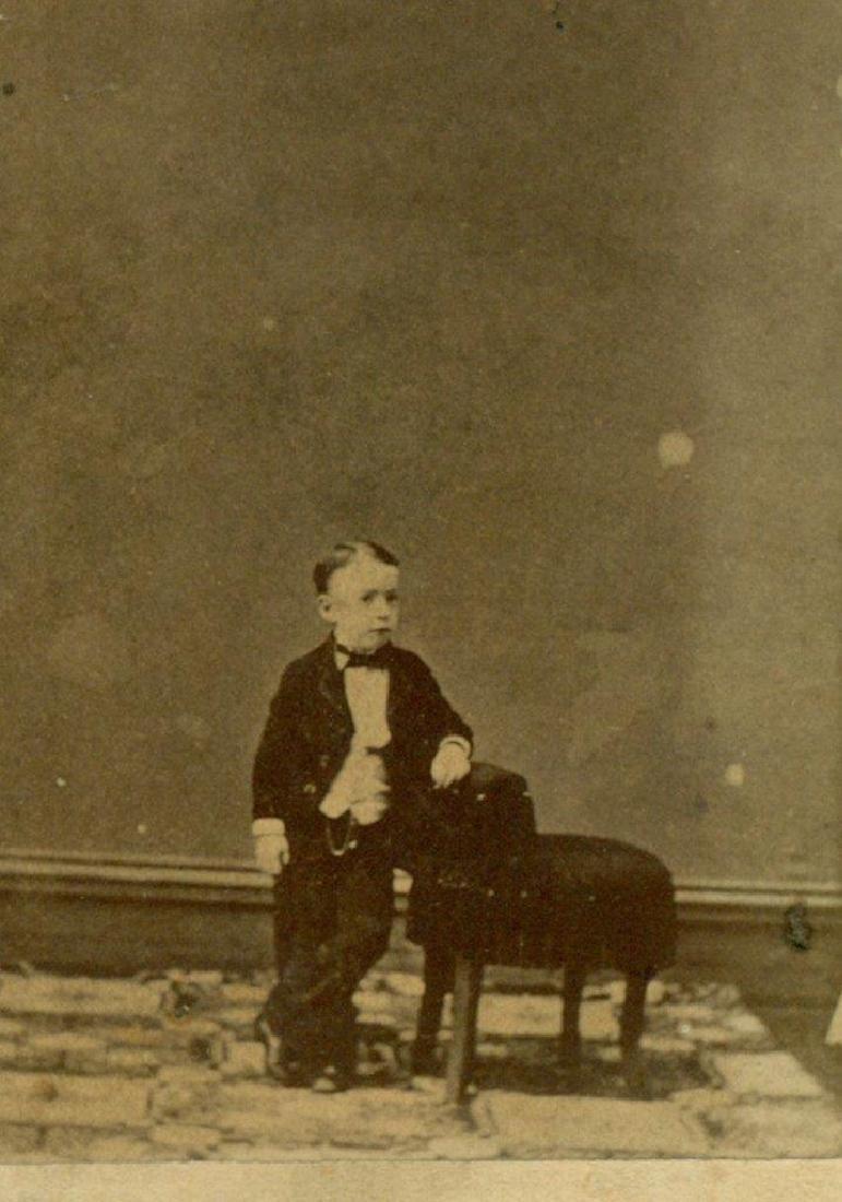 1870 Circus Sideshow Freak Midget John Kit Henry