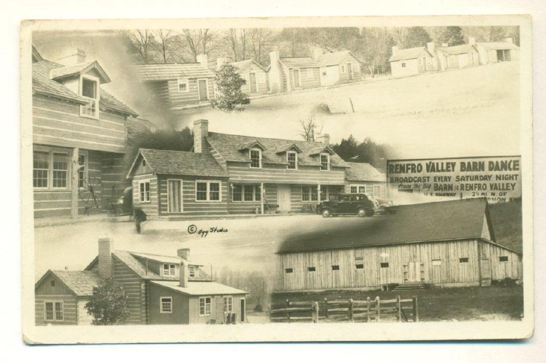1941 Renfro Valley Barn Dance, Ky Log Cabin, Hillbilly
