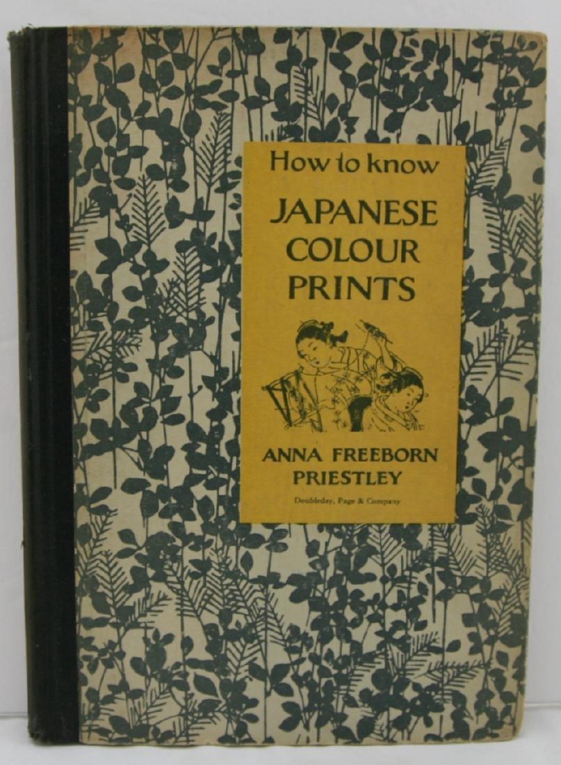 Anna Freeborn Priestly Woodblock First Edition Book