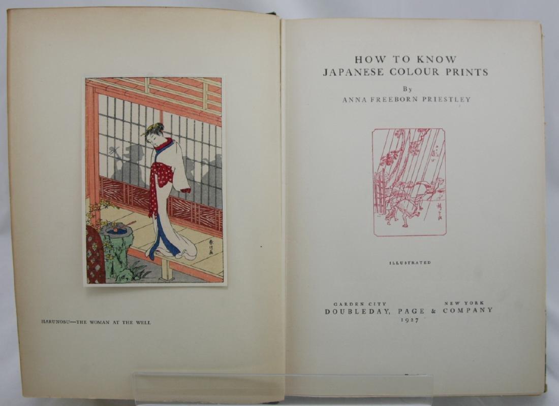 Anna Freeborn Priestly Woodblock First Edition Book - 2