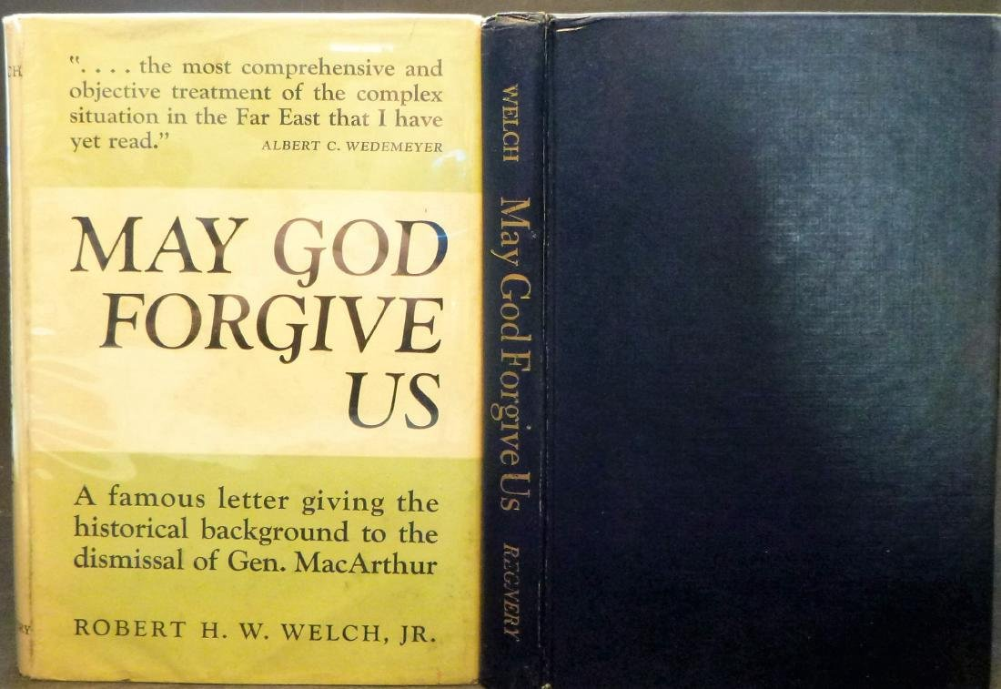 May God Forgive Us Inscribed First Edition