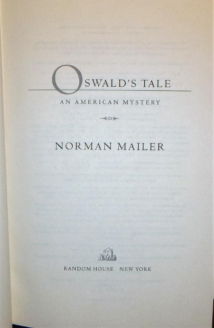 Oswald's Tale- Inscribed 1st edition - 3