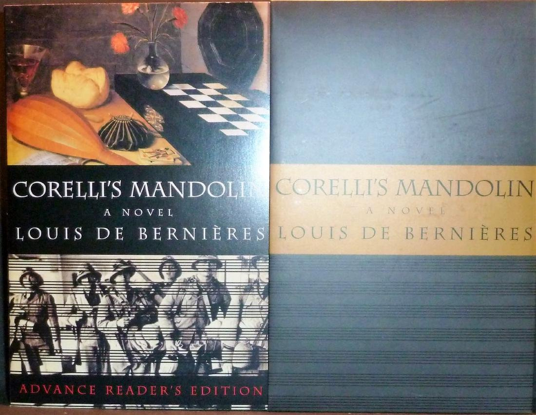 Corelli's Mandolin- Signed 1st edition