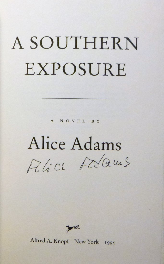 A Southern Exposure- Signed 1st Edition - 3