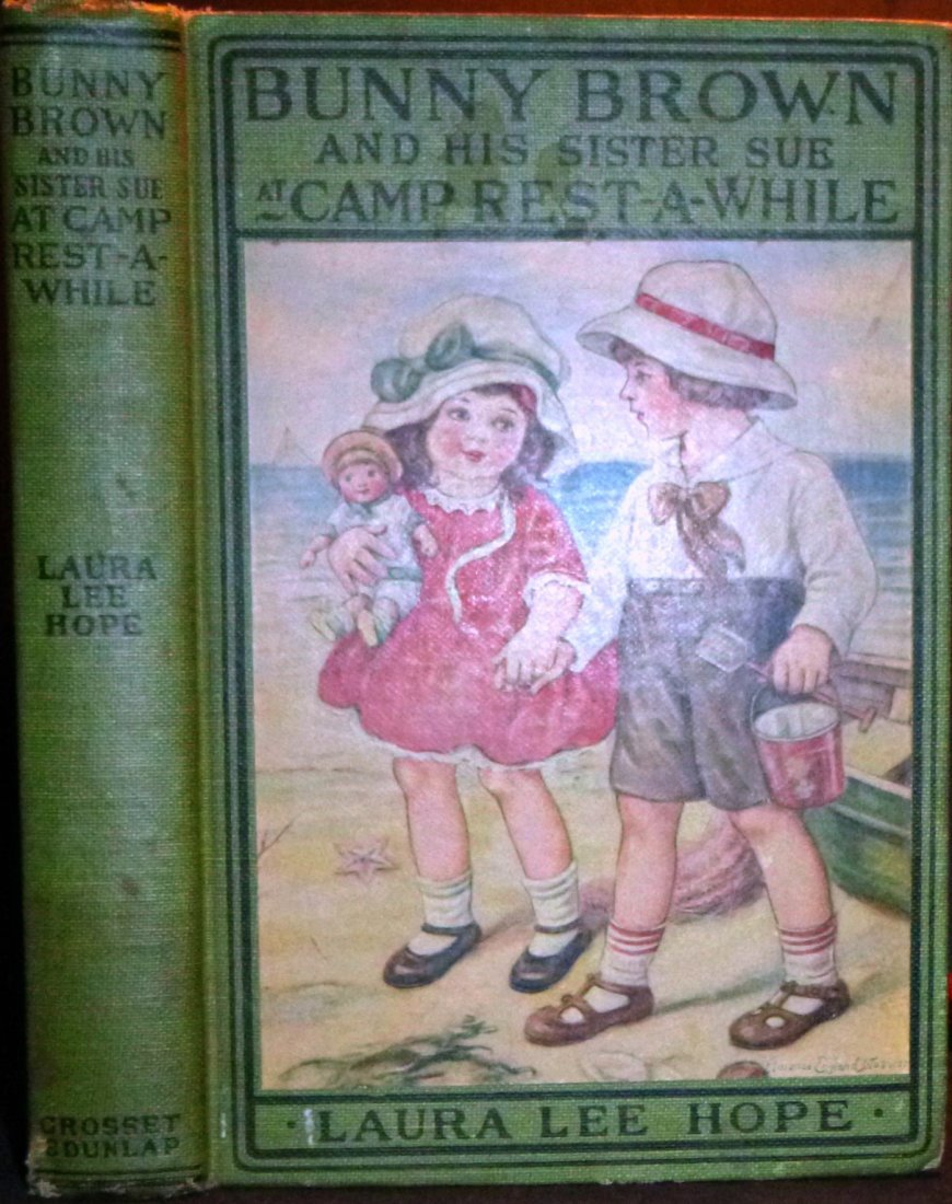 Bunny Brown & Sister Sue Camp Rest-A-While 1st Edition