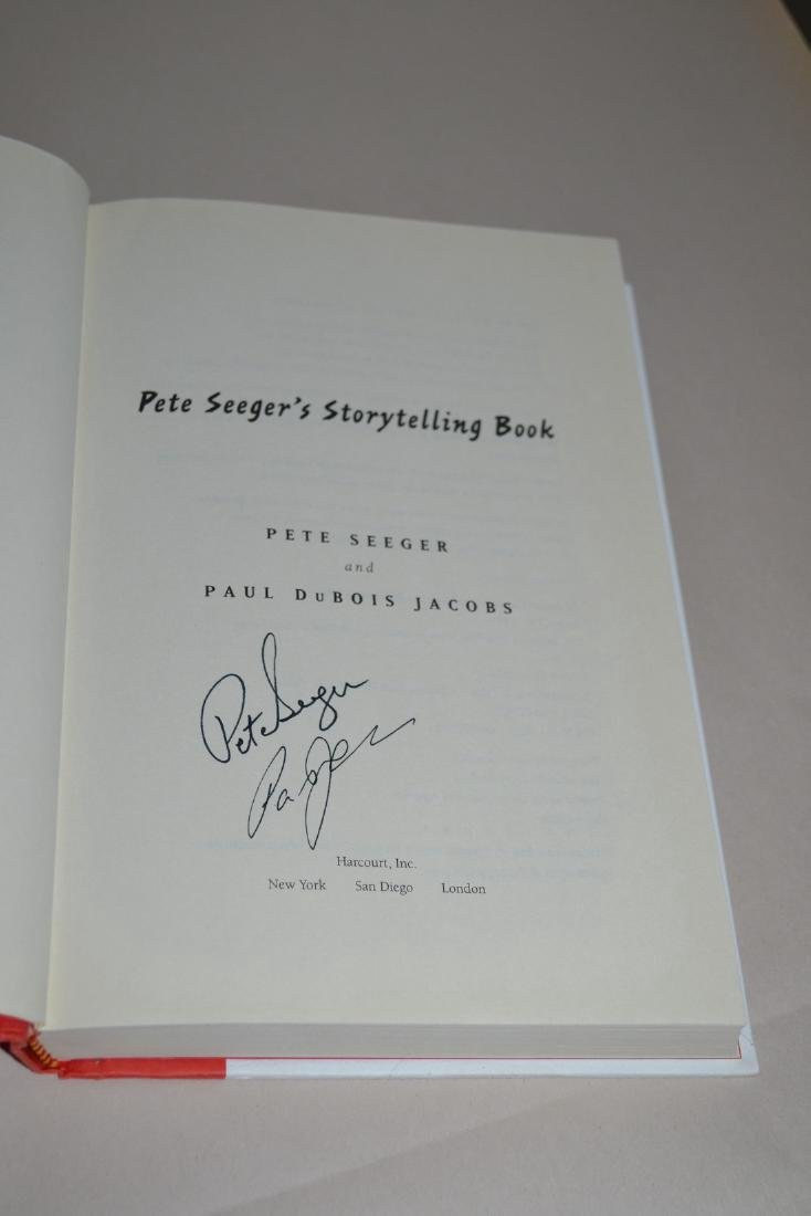 Pete Seeger's Storytelling Book Pete Seeger Paul Jacobs - 3