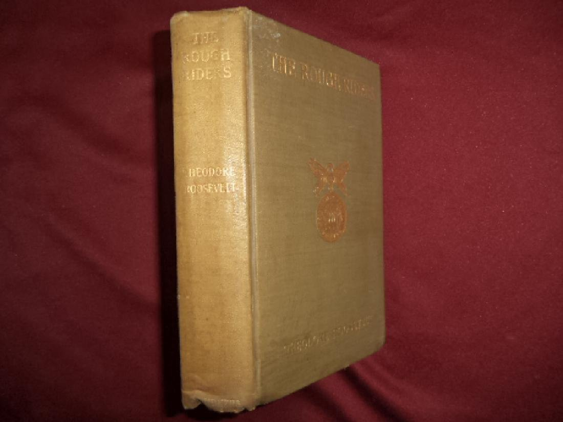 The Rough Riders. First edition. Roosevelt, Theodore.