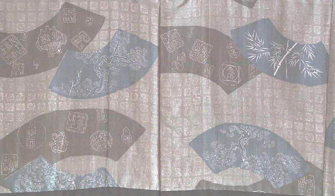 Vintage  Japanese Kimono Haori Fan Designs, 1930s - 2