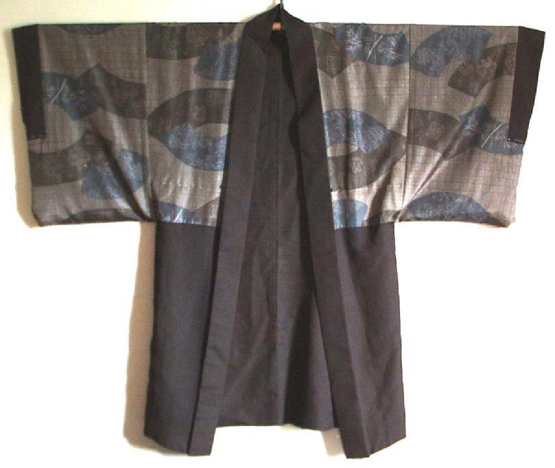 Vintage  Japanese Kimono Haori Fan Designs, 1930s - 3