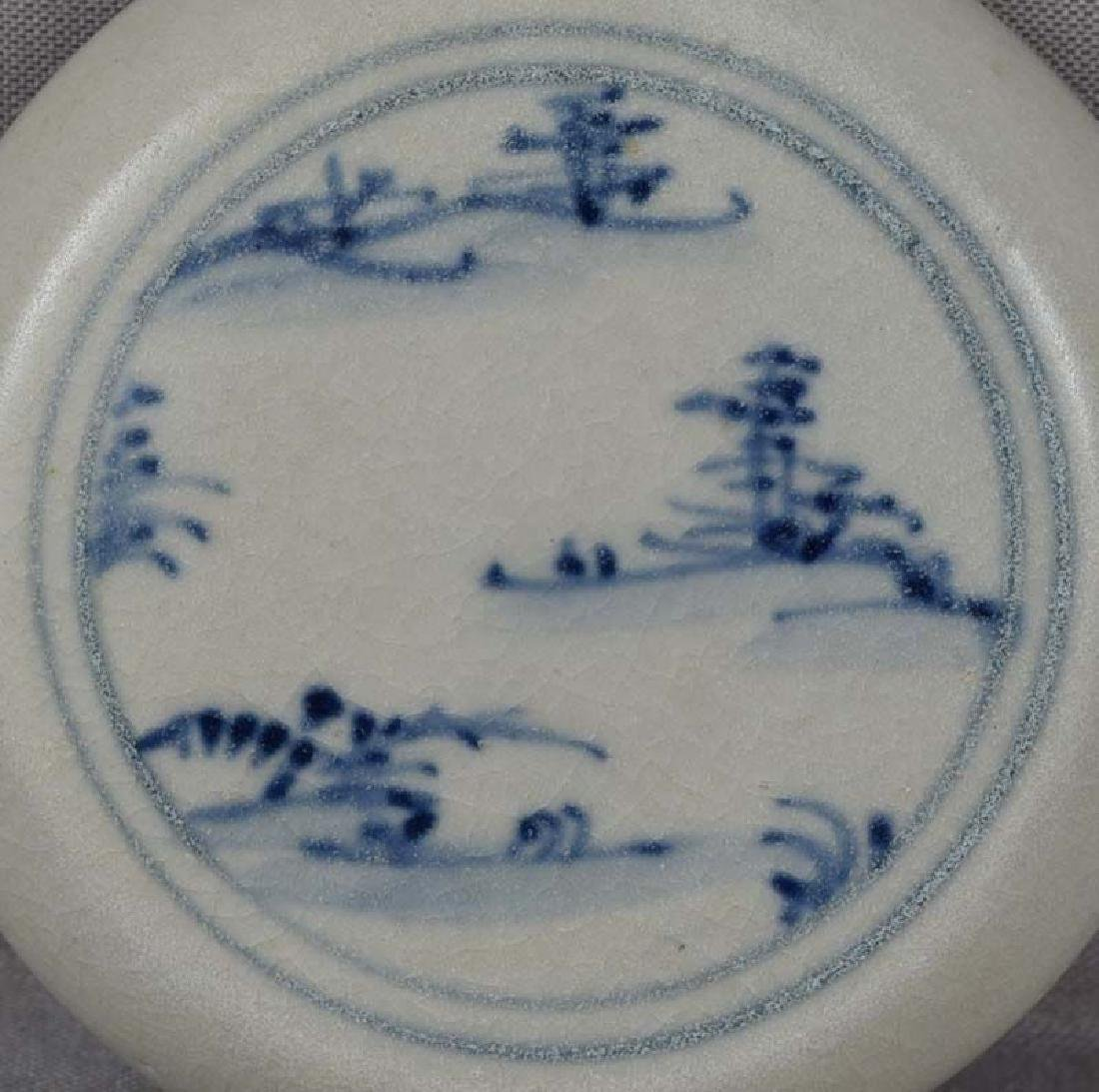Antique Vietnamese Ceramic Hoi an Shipwreck Box, 15th C - 2