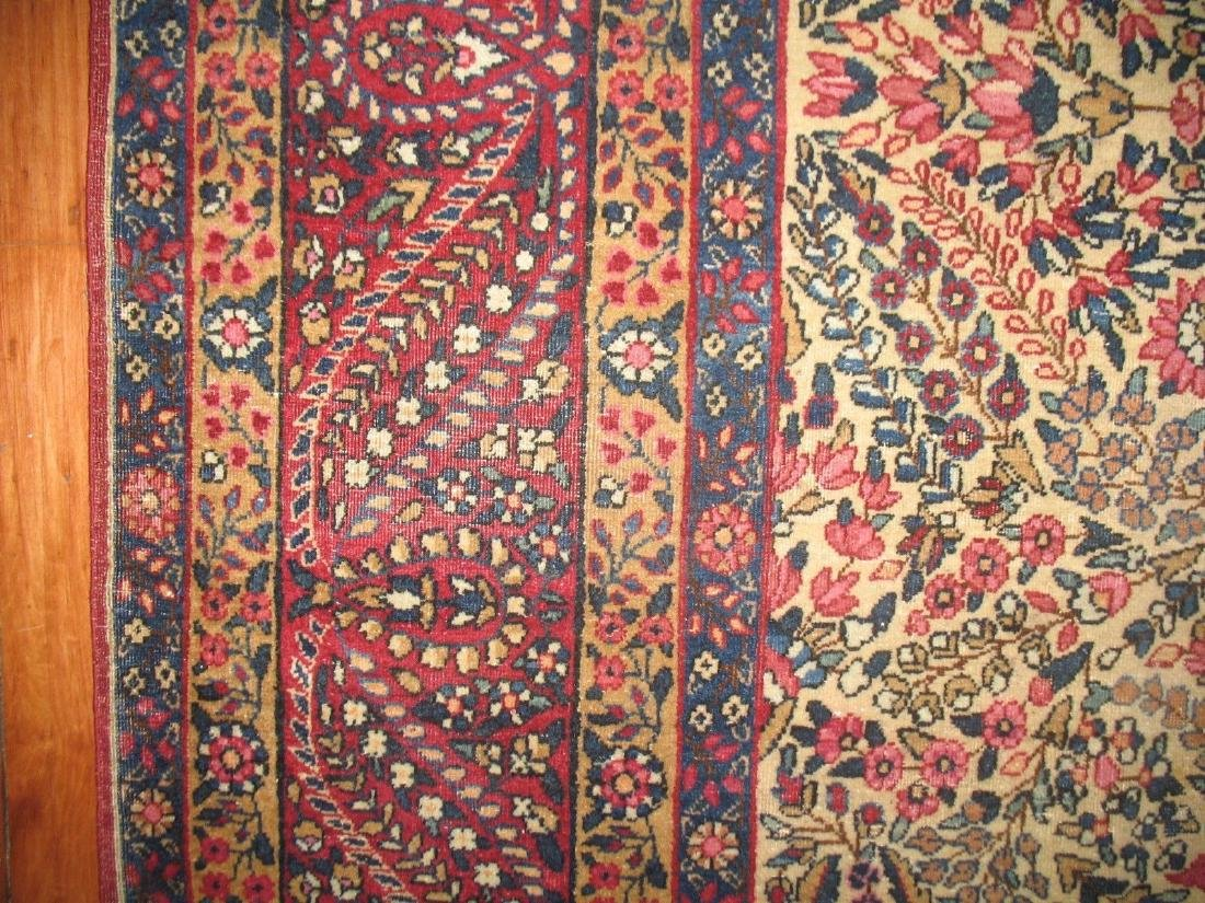 Antique Lavar Kerman Kirman Rug 7.11.x10 - 3
