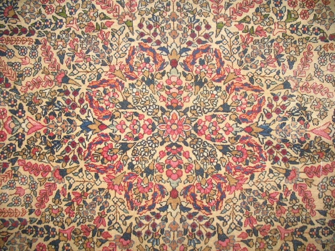 Antique Lavar Kerman Kirman Rug 7.11.x10 - 4