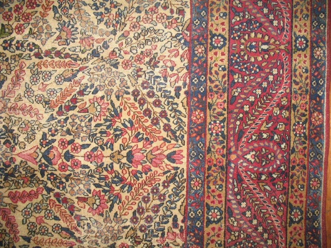 Antique Lavar Kerman Kirman Rug 7.11.x10 - 5