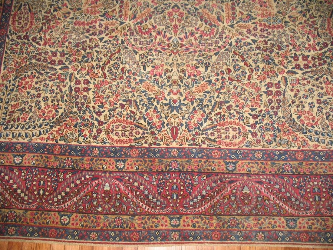 Antique Lavar Kerman Kirman Rug 7.11.x10 - 6