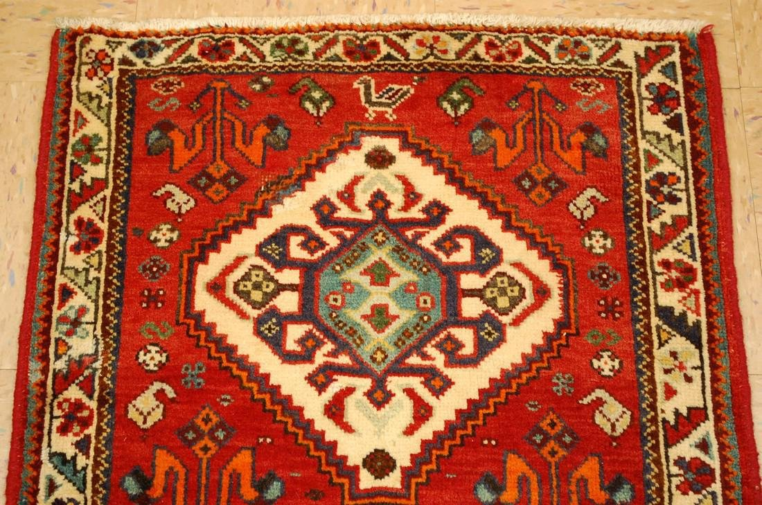 Persian Shiraz Qashkai Village Rug 2.2x2.2 - 3