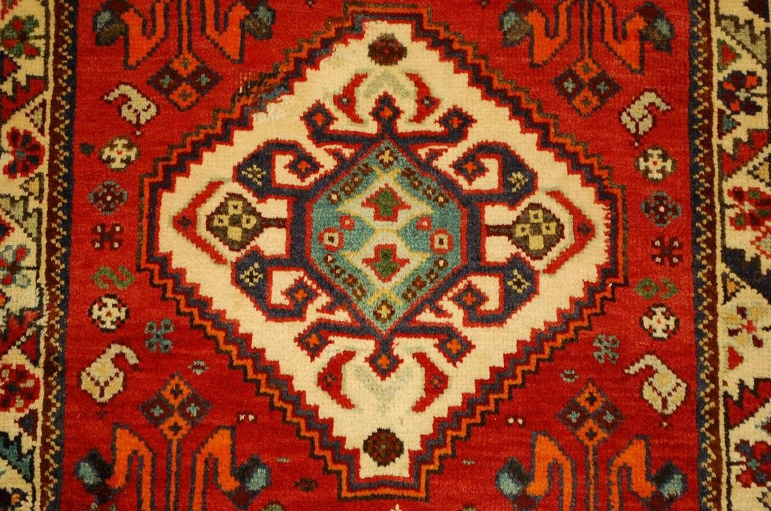 Persian Shiraz Qashkai Village Rug 2.2x2.2 - 4