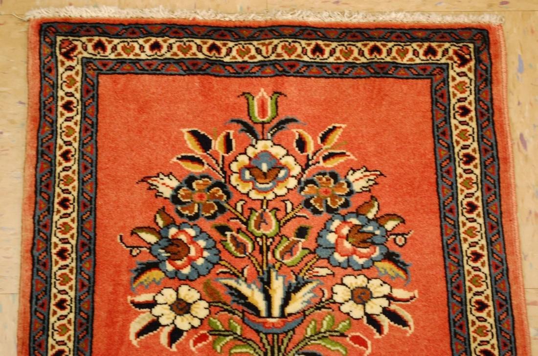 Etailed Design Persian Sarouk Rug 1.8x1.8 - 3
