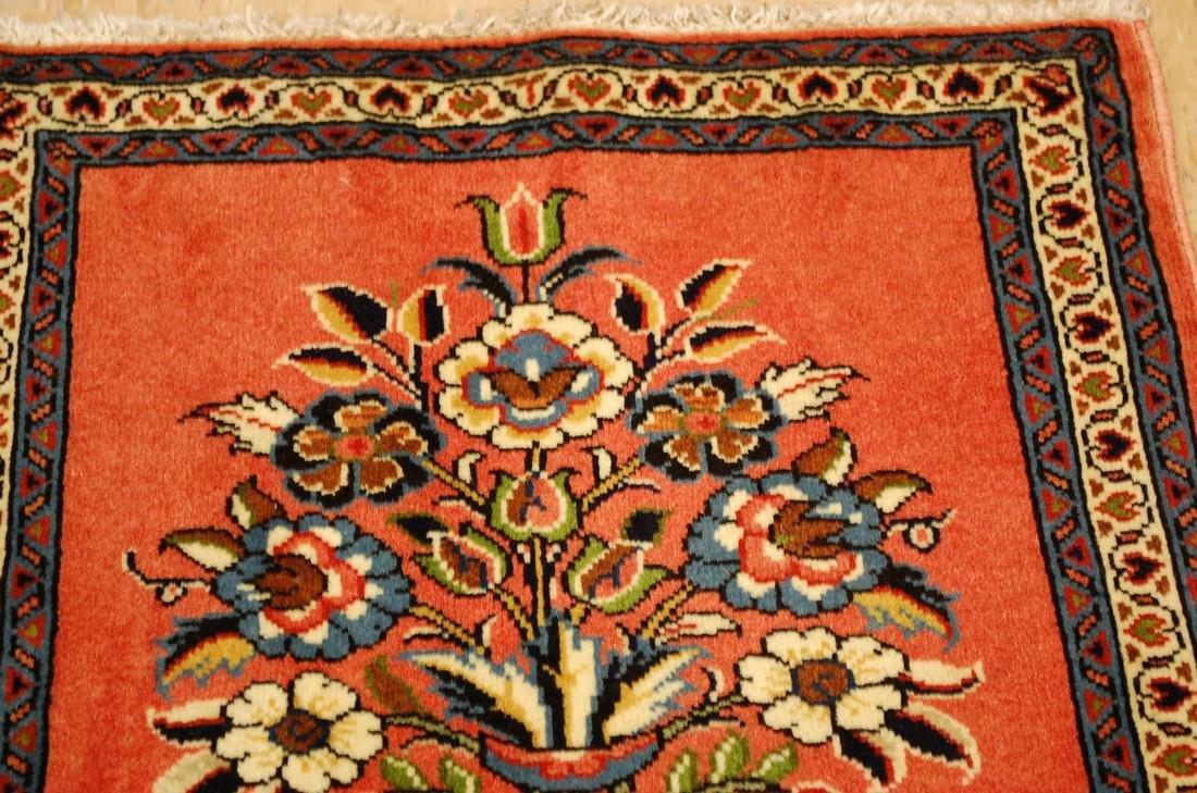 Etailed Design Persian Sarouk Rug 1.8x1.8 - 4