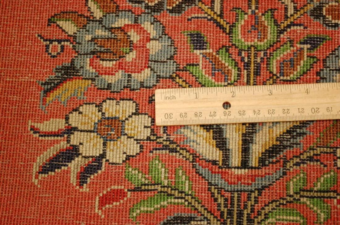 Etailed Design Persian Sarouk Rug 1.8x1.8 - 6