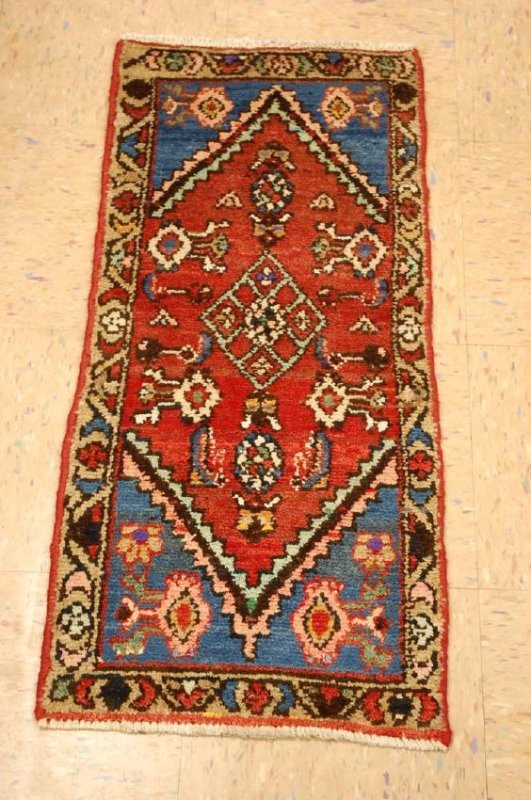Etailed Design Persian Mishan Malayer Rug 1.4x3