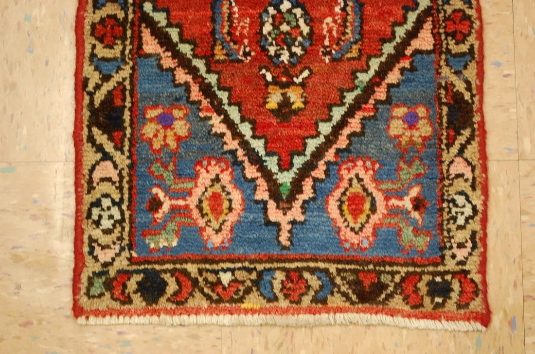 Etailed Design Persian Mishan Malayer Rug 1.4x3 - 2