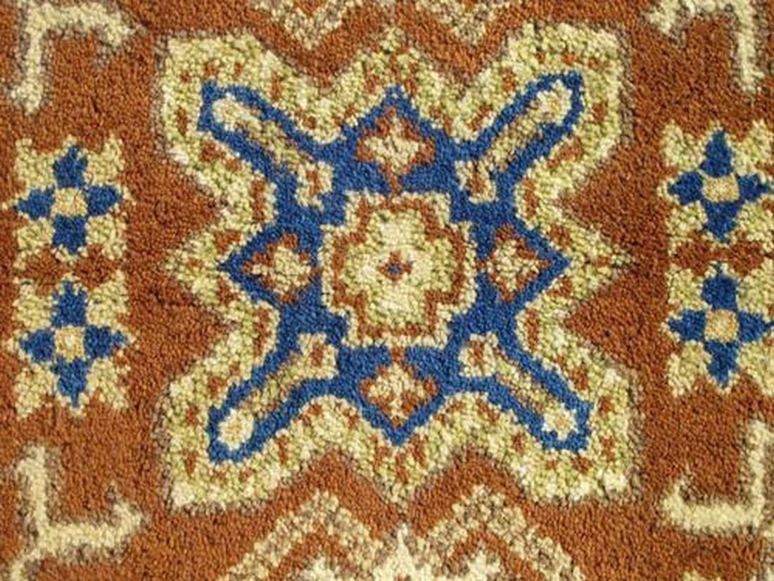 Simply Stunning Hand Woven Kazak Design Rug 2.1x4 - 4