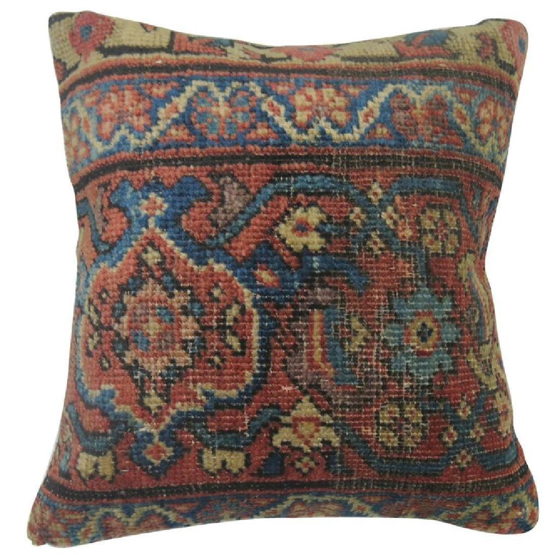 Persian Mahal Rug Pillow 1.1x1.3