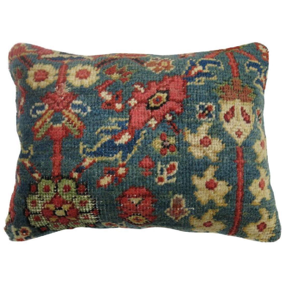 Green Persian Mahal Rug Pillow 1.2x1.7