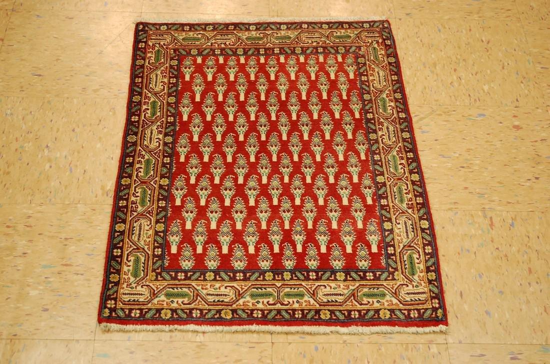 Etailed Design Persian Sarouk Rug 2x2.10