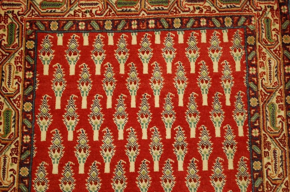 Etailed Design Persian Sarouk Rug 2x2.10 - 4