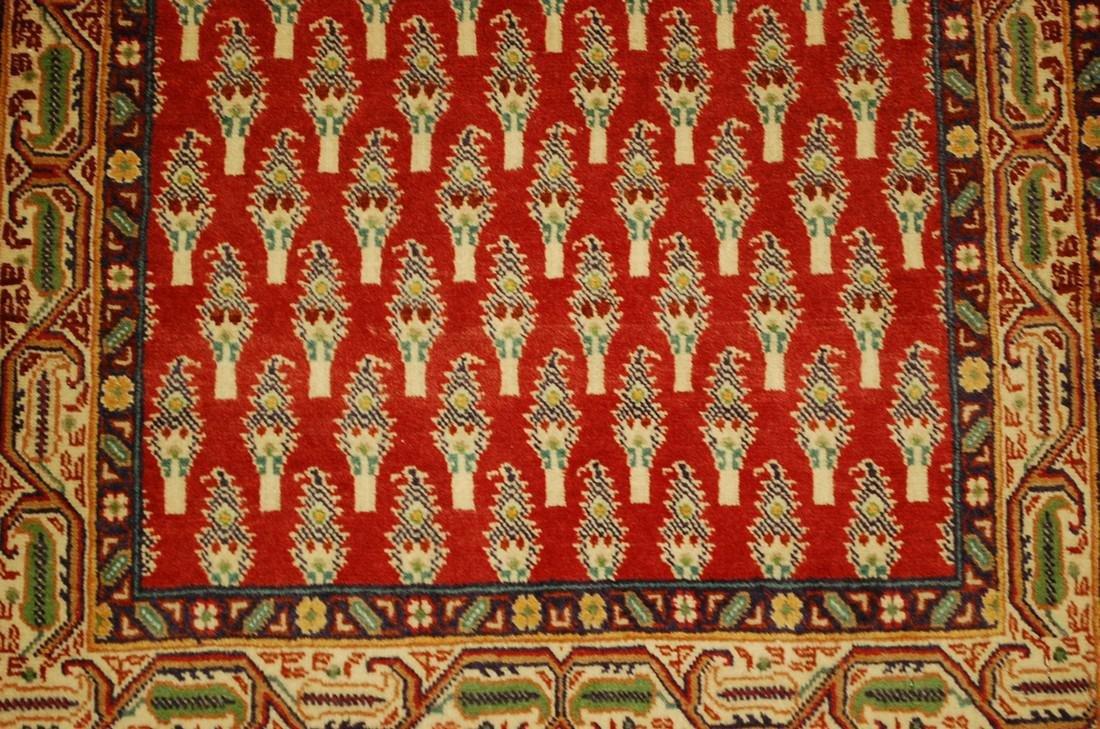 Etailed Design Persian Sarouk Rug 2x2.10 - 5
