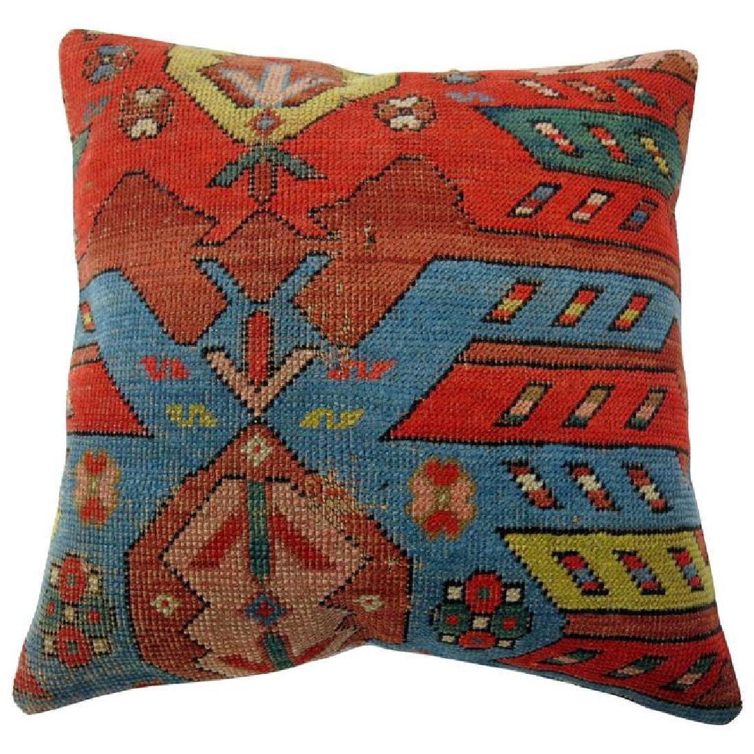 Antique Karabagh Rug Pillow 1.5x1.6