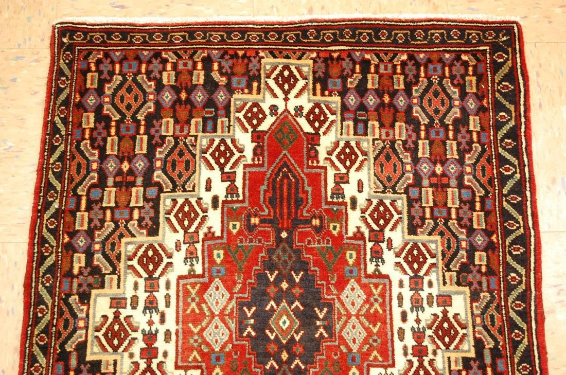 Persian Bijar Rug 2.5x3.2 - 3