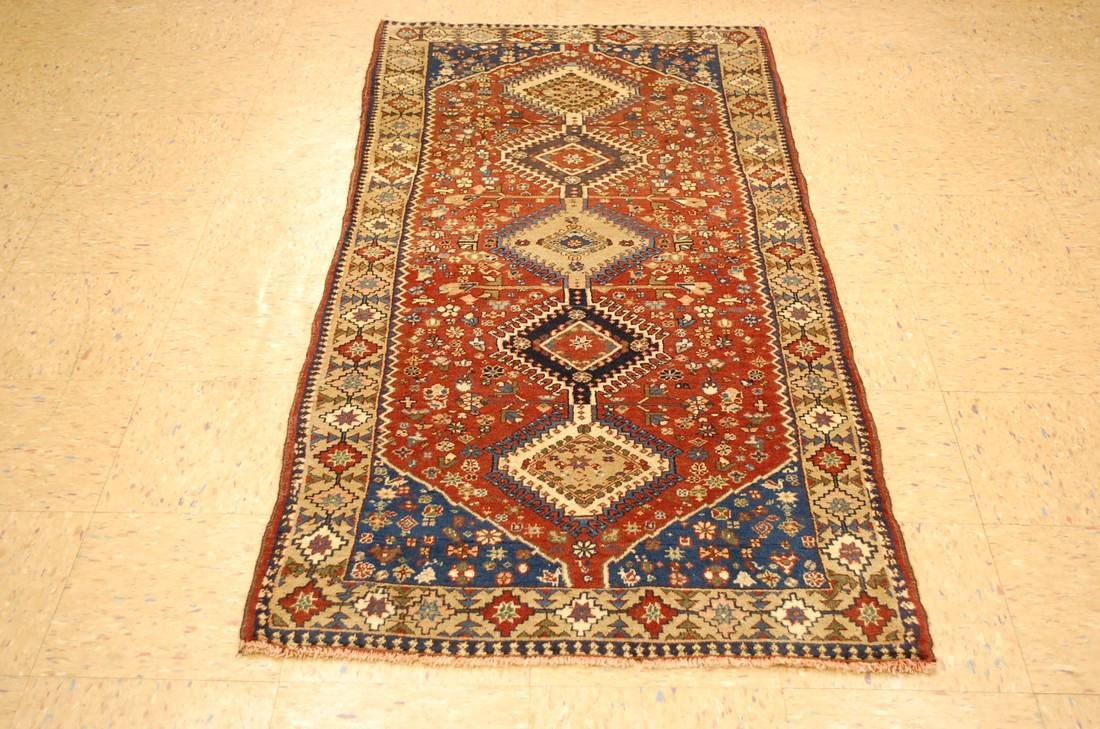 Persian Shiraz Qashkai Village Rug 2.9x6.5