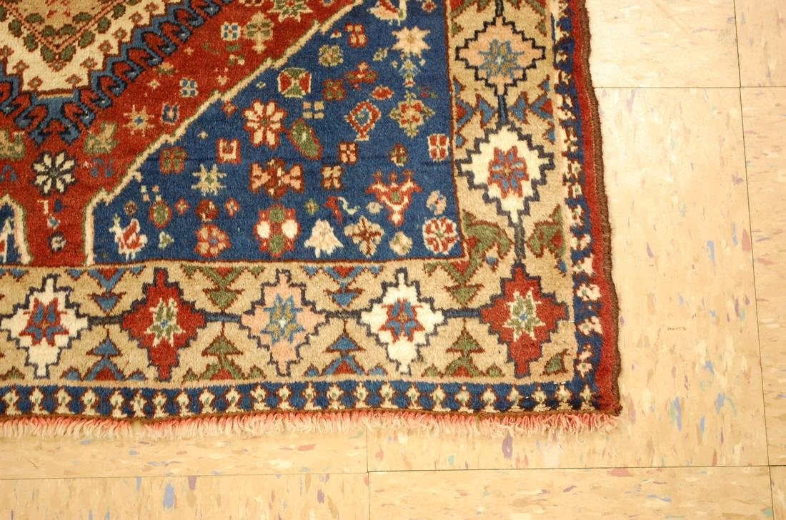 Persian Shiraz Qashkai Village Rug 2.9x6.5 - 2