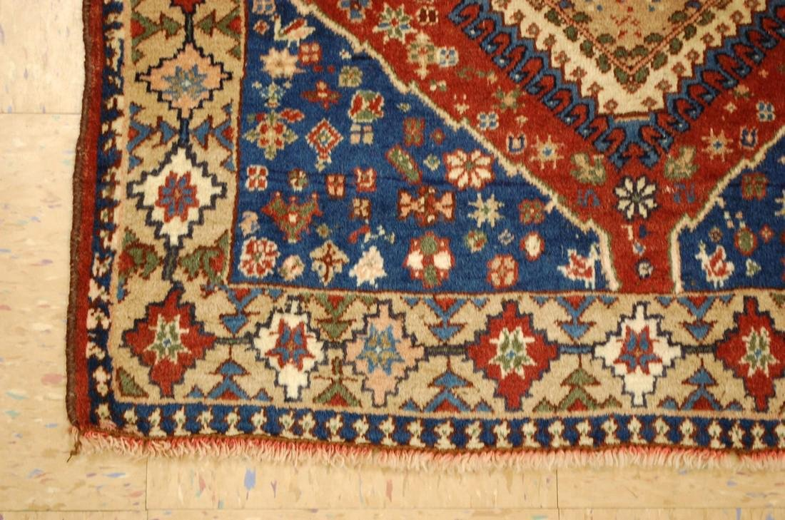 Persian Shiraz Qashkai Village Rug 2.9x6.5 - 3