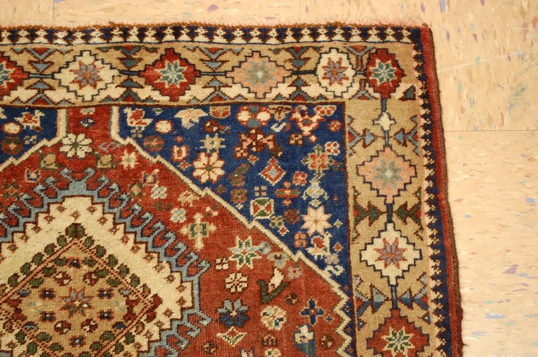 Persian Shiraz Qashkai Village Rug 2.9x6.5 - 5