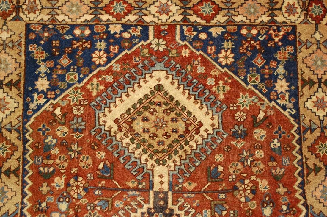 Persian Shiraz Qashkai Village Rug 2.9x6.5 - 6