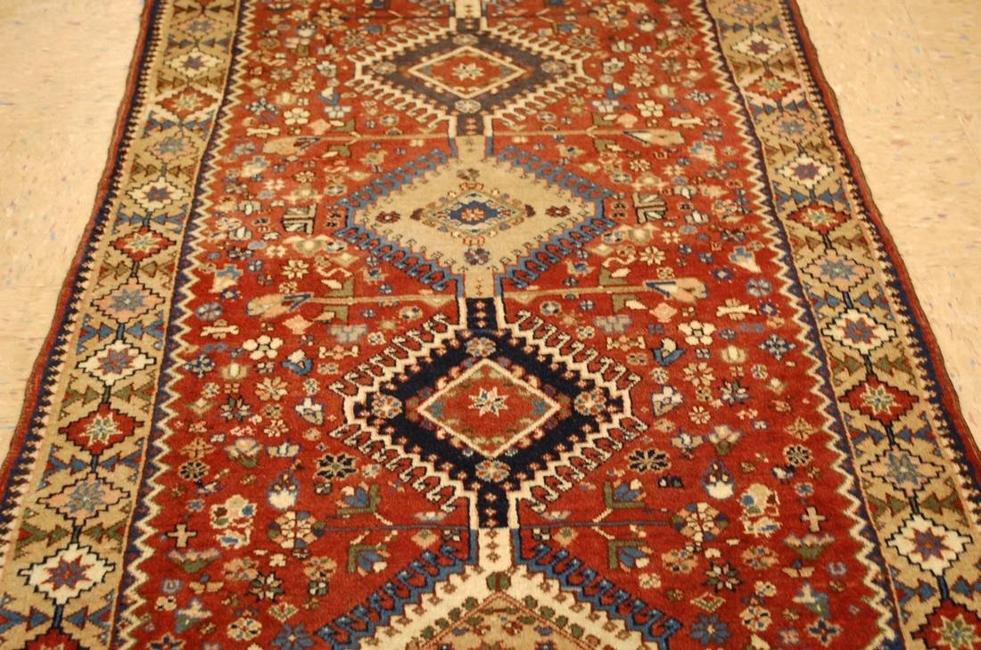 Persian Shiraz Qashkai Village Rug 2.9x6.5 - 8