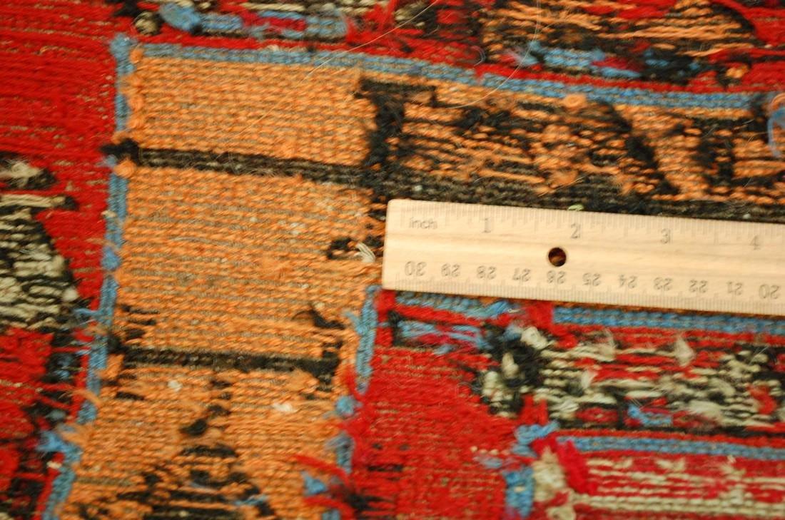 Fine Highly Detailed Caucasian Soumak Kilim Rug 5.2x6 - 8