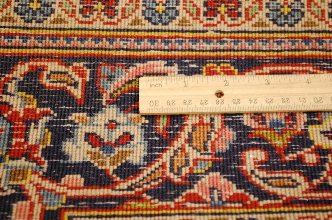 Quality Kork Wool Persian Kashan Rug 3.8x5.10 - 10