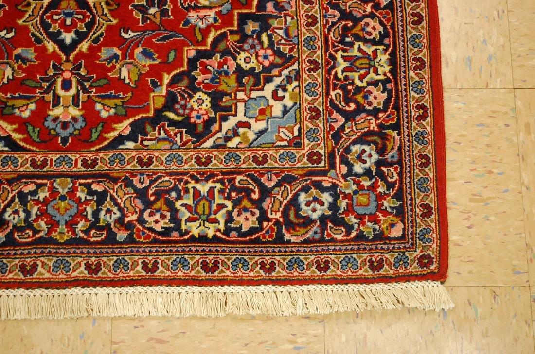 Quality Kork Wool Persian Kashan Rug 3.8x5.10 - 3