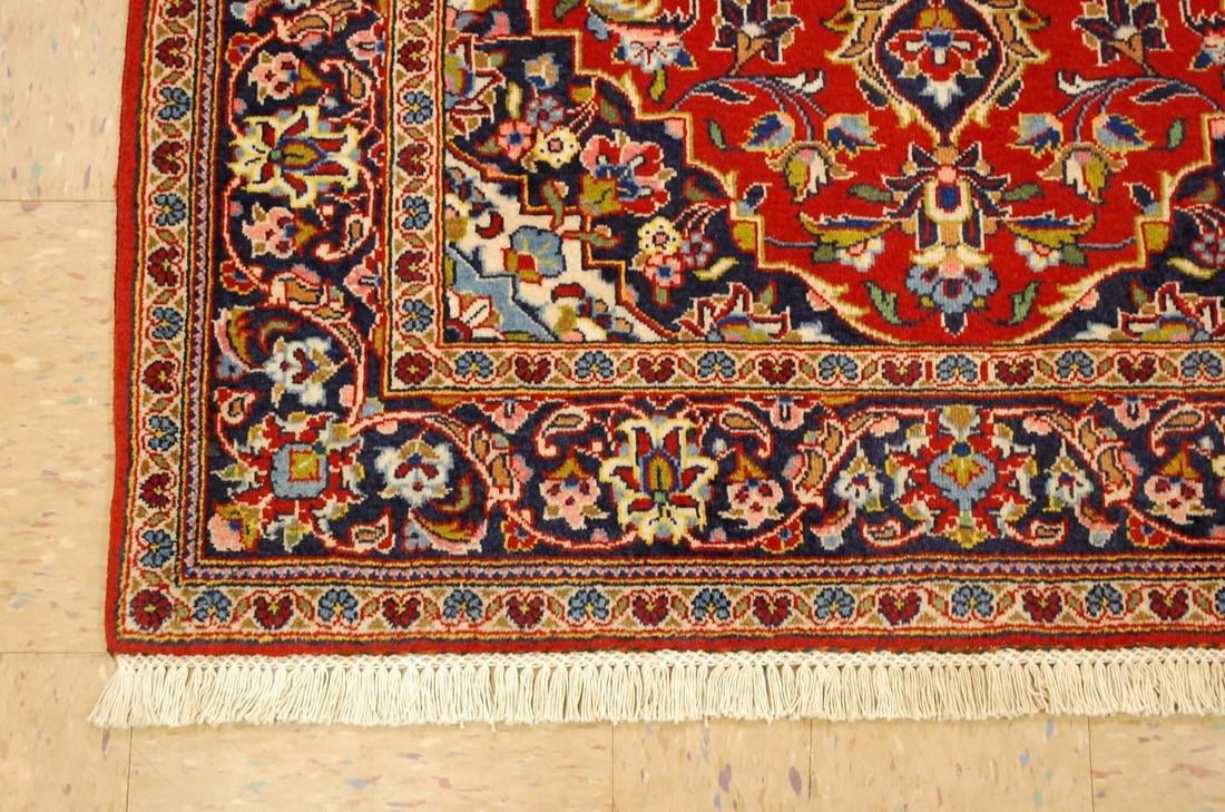 Quality Kork Wool Persian Kashan Rug 3.8x5.10 - 4