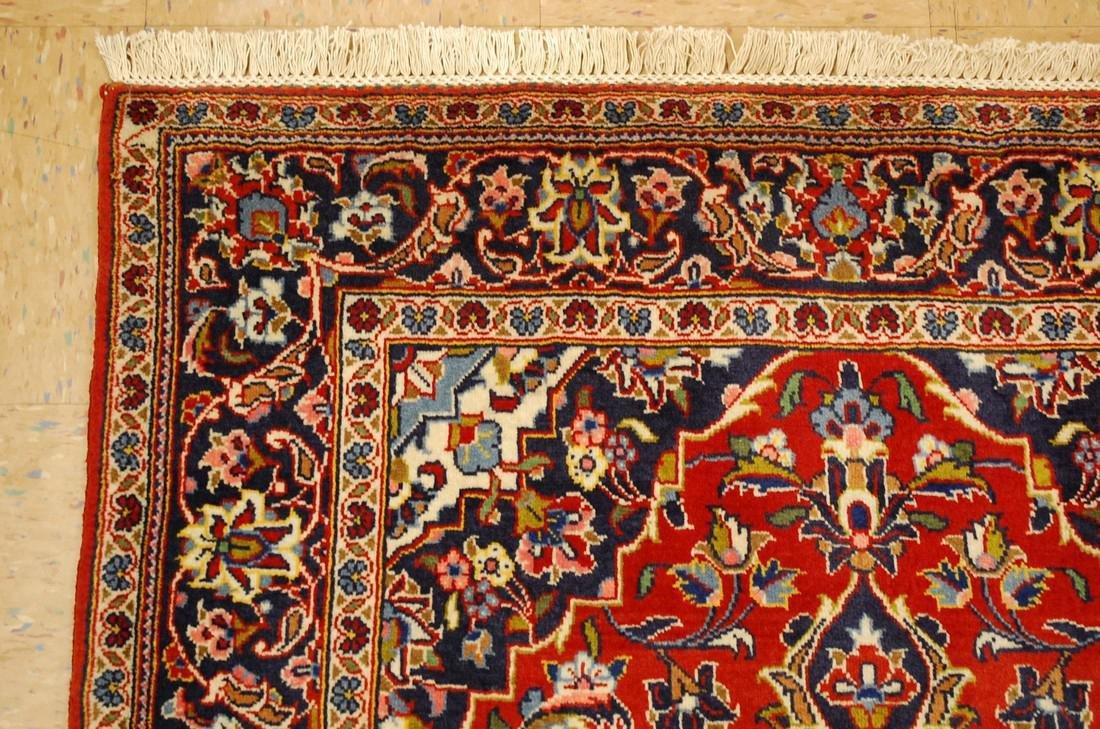 Quality Kork Wool Persian Kashan Rug 3.8x5.10 - 5