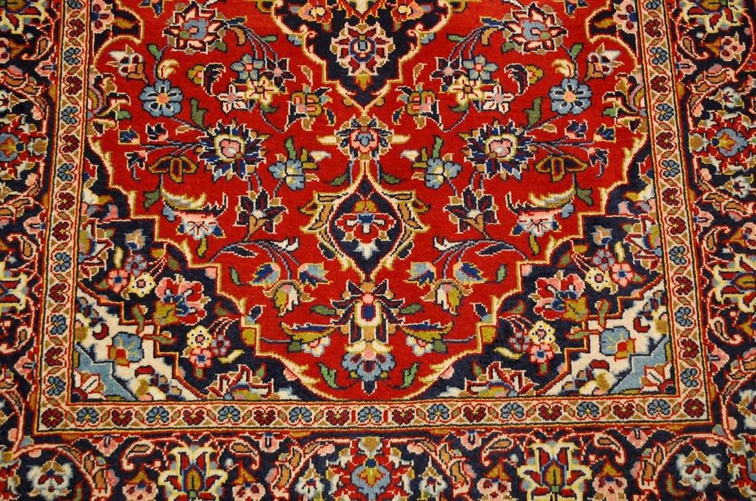 Quality Kork Wool Persian Kashan Rug 3.8x5.10 - 7