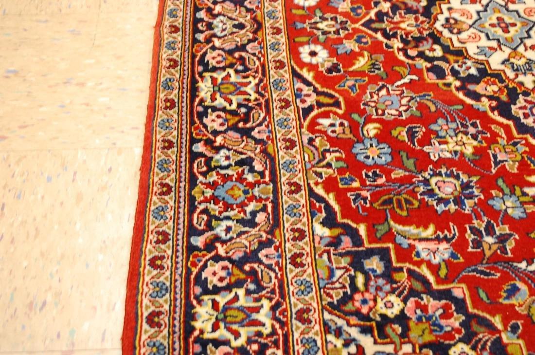Quality Kork Wool Persian Kashan Rug 3.8x5.10 - 8