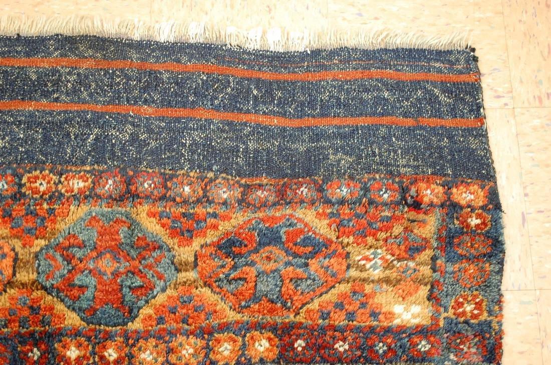 Antique Kurdish Horse Cover Verneh Rug 3.8x4.7 - 5