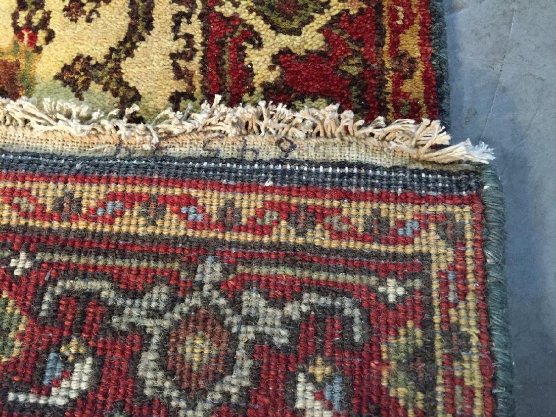Hand Knotted Wool Heriz Design Long Runner Rug 2.6x15.7 - 6